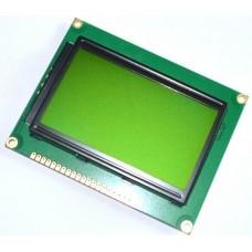 Pantalla Grafica LCD 128x64 Verde Letras Negras