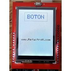 """Kit Arduino Mega + Pantalla TFT 2.4"""" + Touch + Codigo"""