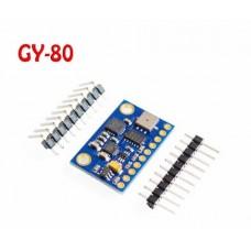 GY-80 10DFO 9 AXIS Giroscopio Acelerometro Barometro Termometro Magnetometro