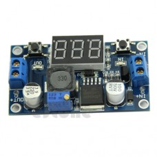 Fuente Variable con Display de LED LM2596 DC 4.0~40 to 1.3-37V