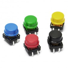 Interruptor Push Button de Colores