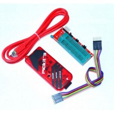 Programador Pickit3 + Cable Icsp + Base Zif 40 + Cable Usb
